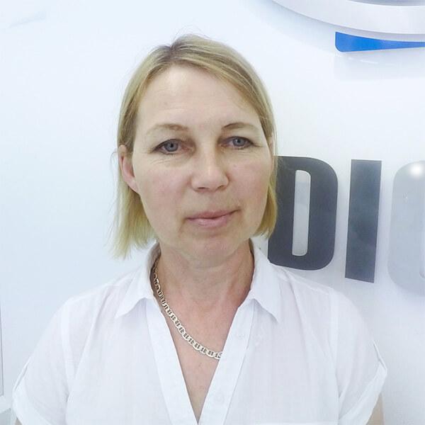Dermatologist Hanna Smagalska