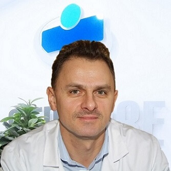 Dermatologist Dr Andrzej Rozanski